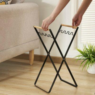 Le Clap Store - Concept Store - Aménagement maison - Support pliant pour sac noir