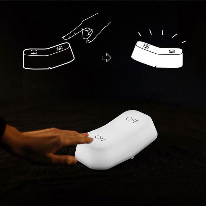 Shéma utilisation lampe on/off