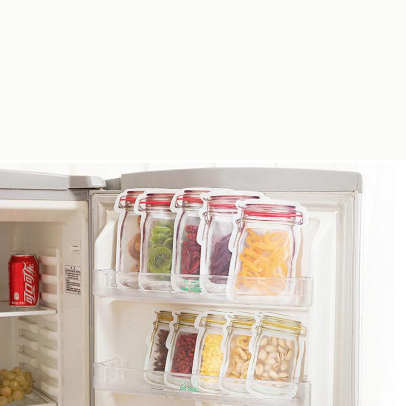 sachet conservation dans un réfrigirateur