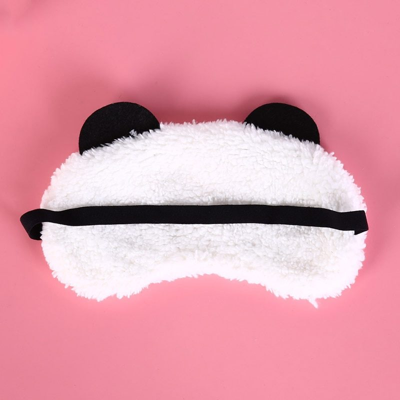 masque panda - vue de dos