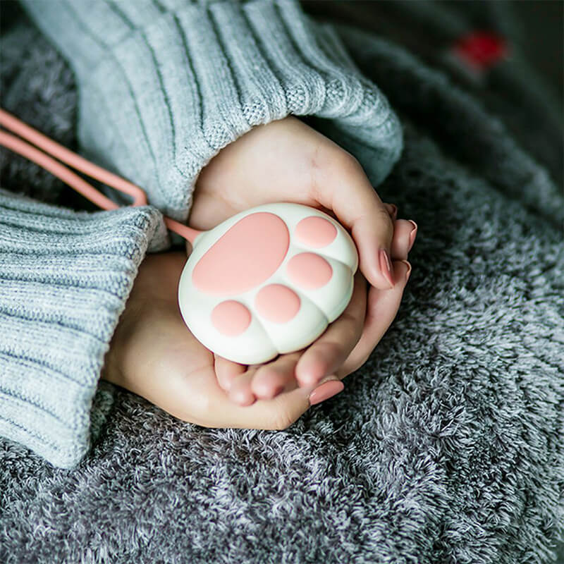 Batterie chat et chauffe mains