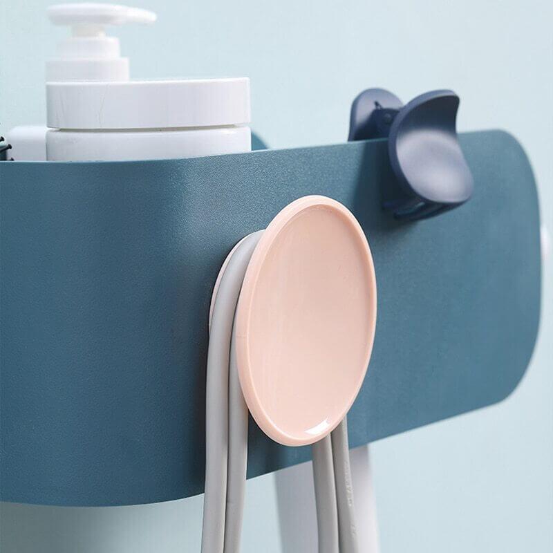 Support design pour sèche cheveux - vue de près