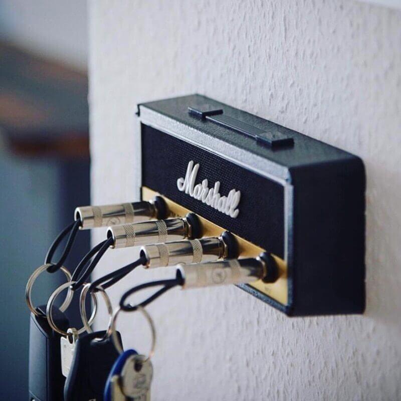 Porte-clés mural Marshall JCM800 - vue de côté