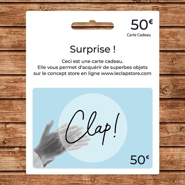 Le Clap Store- Carte cadeau 50 euros format sidebar