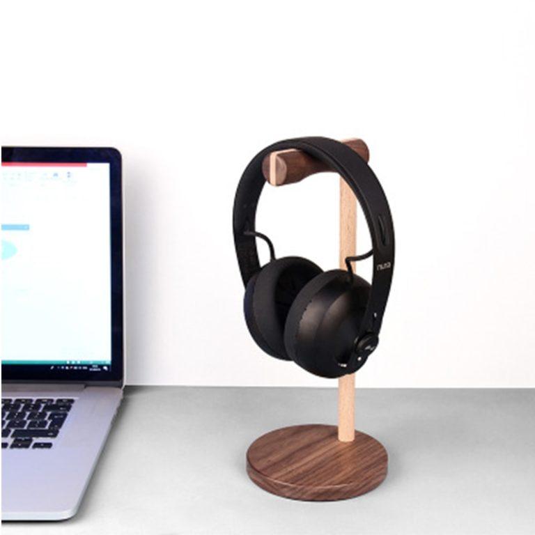 support casque audio - vue de côté