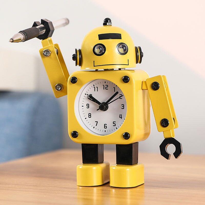 réveil robot