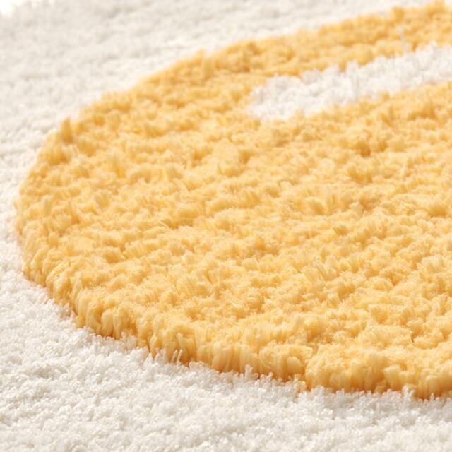 tapis oeuf - détails moquette