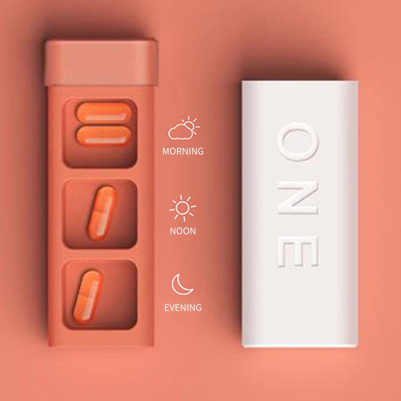 Exemple d'utilisation du pilulier journalier