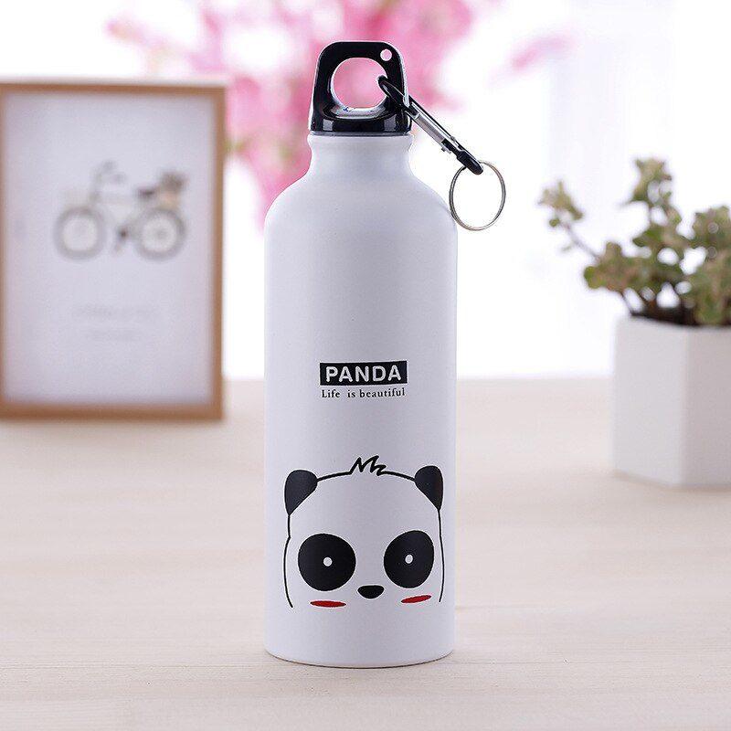gourde blanche motif panda