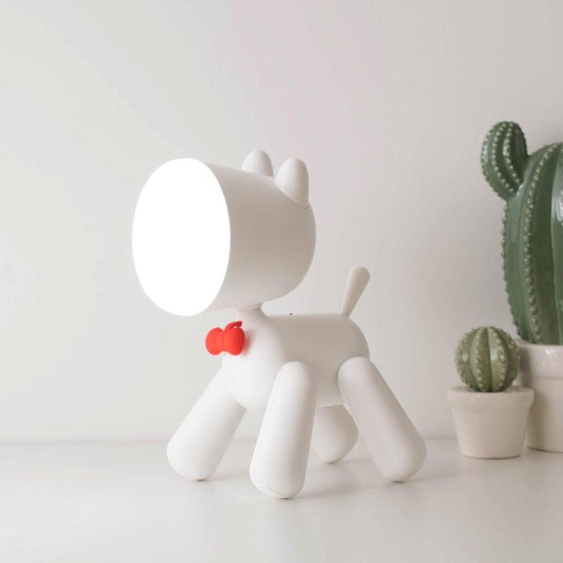 lampe chien design élégant
