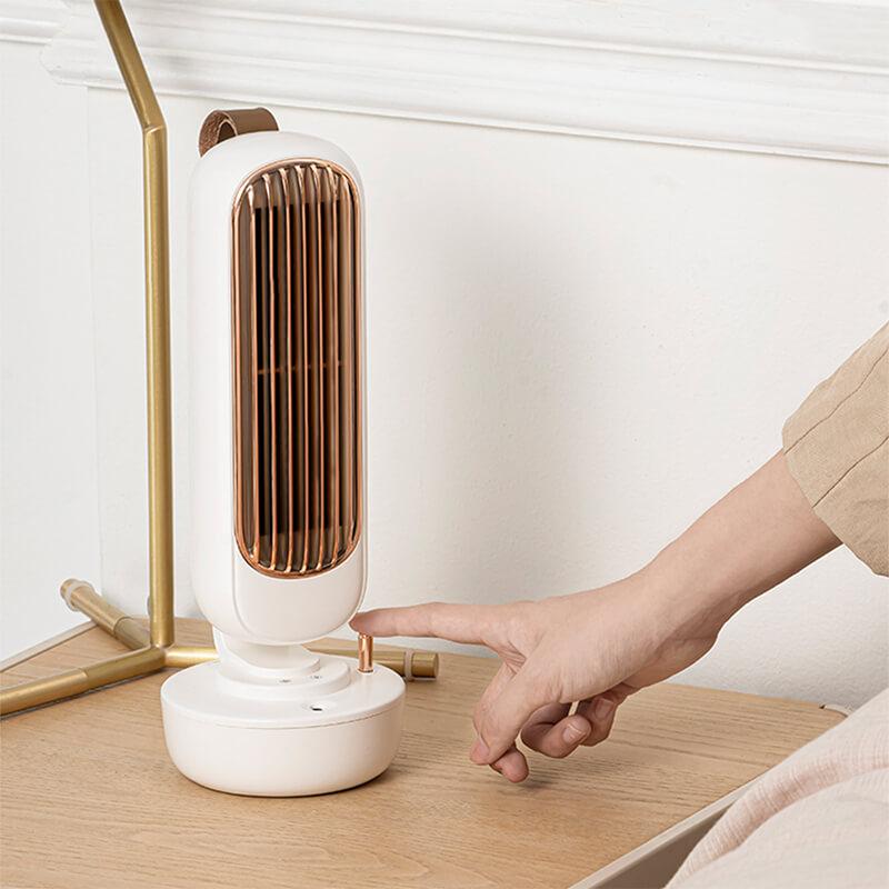 Ventilateur brumisateur élégant