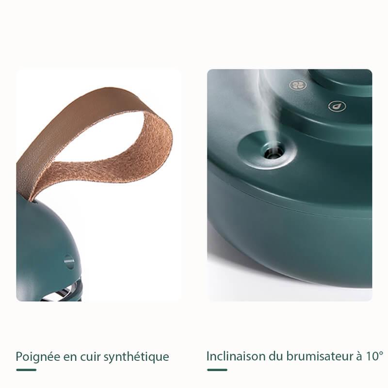 détails ventilateur brumisateur vintage