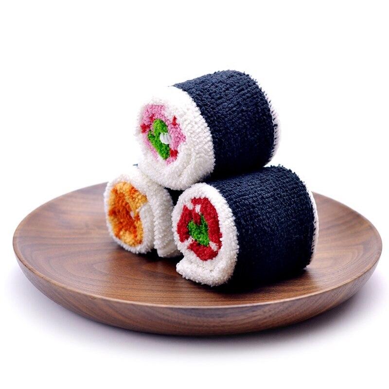 Serviette microfibre sushi par 3