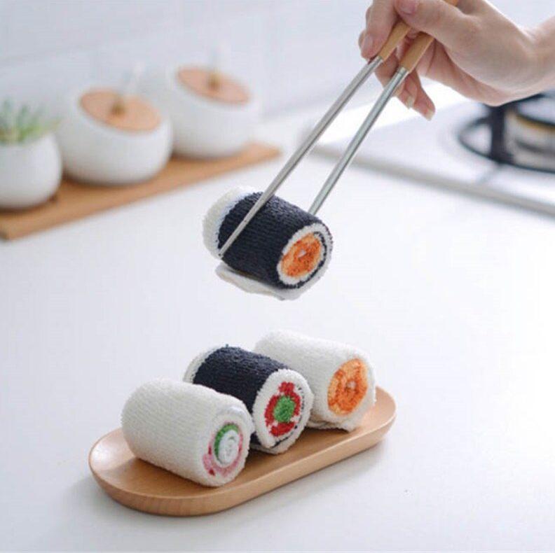 Serviette microfibre sushi