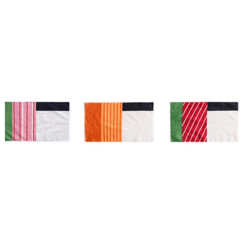 Détails des serviettes microfibre sushi