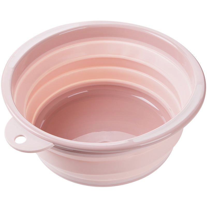 bassine pliable rose