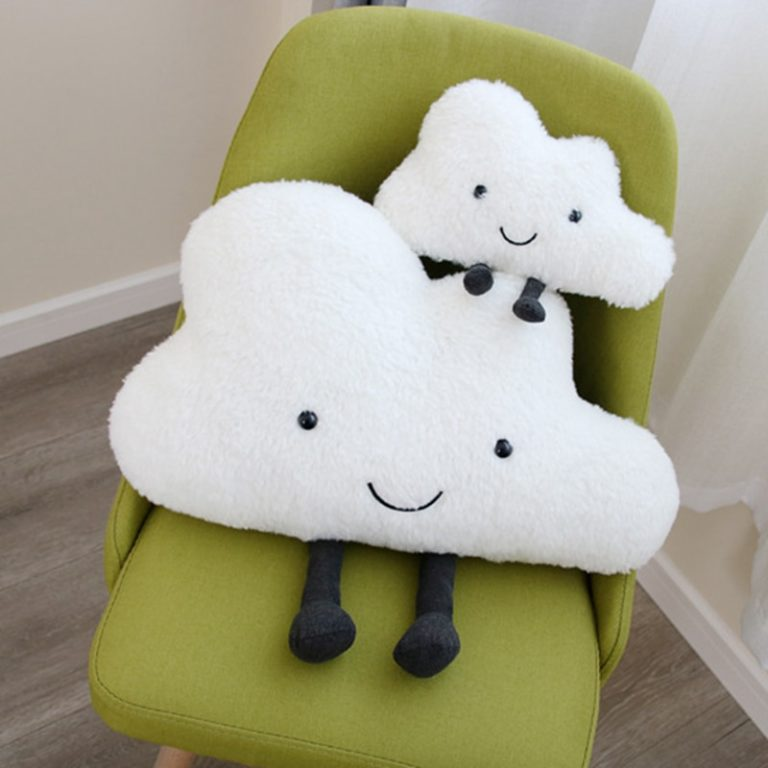 coussin nuage pour enfant