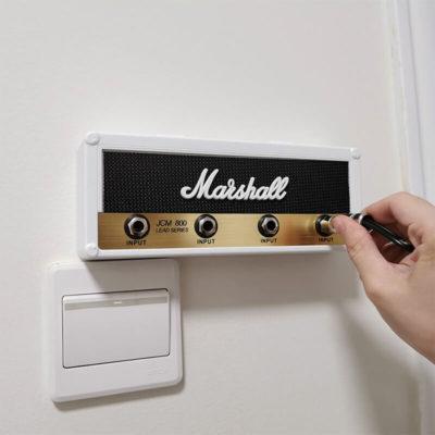 Porte-clé mural marshall blanc