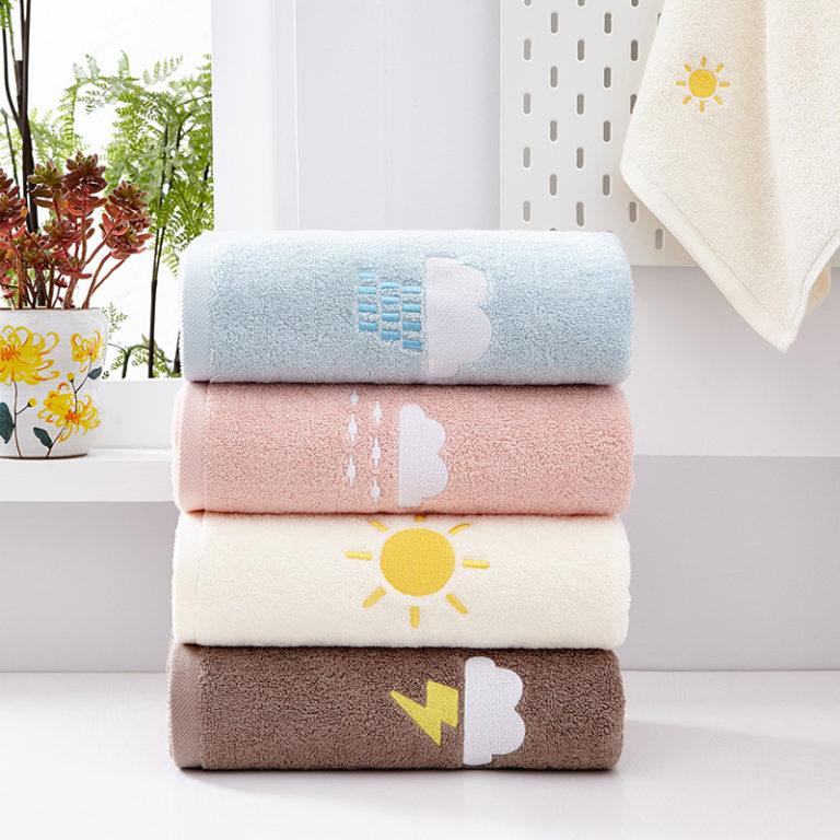 serviette météo en plusieurs coloris
