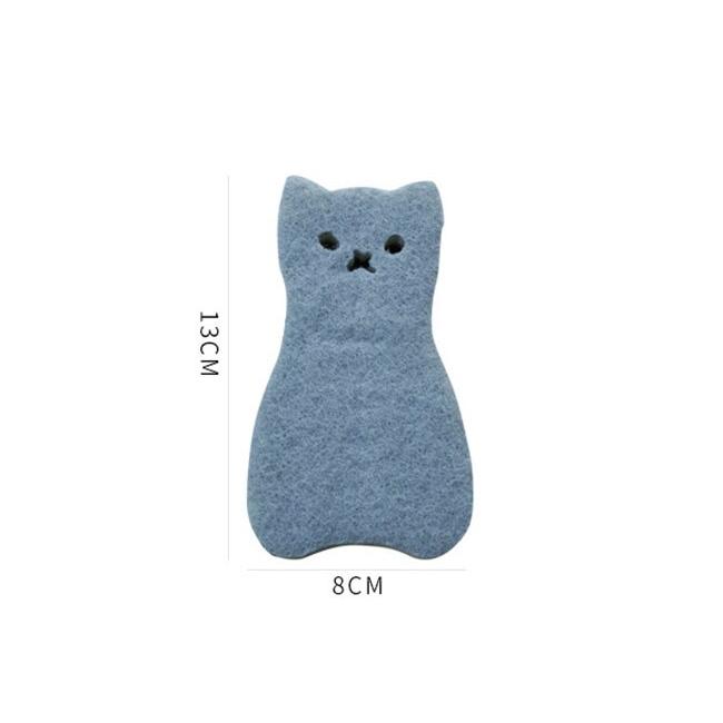 dimensions de l'éponge chat