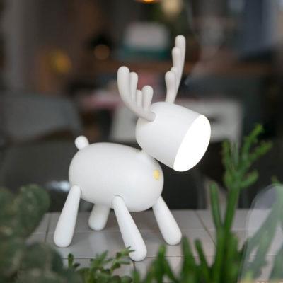 Lampe cerf design