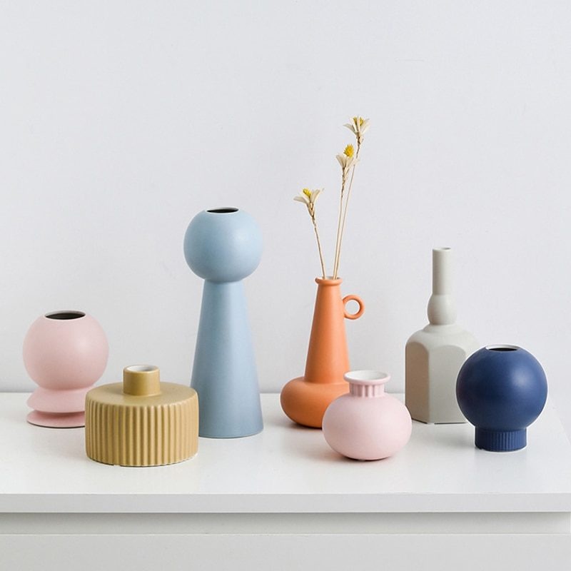 Vase design géométrique