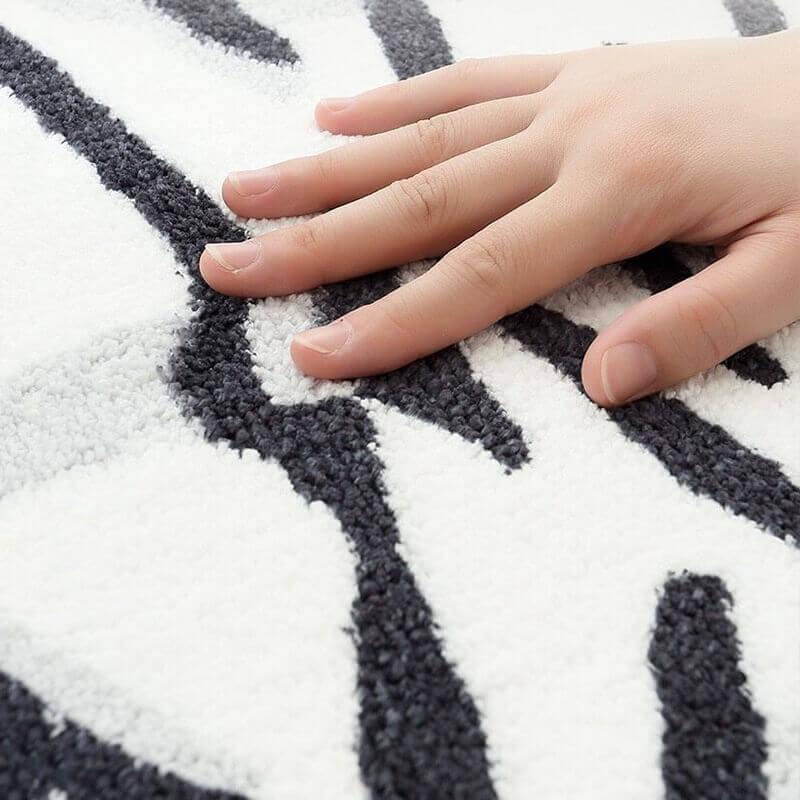 Fibre douce du tapis tigre