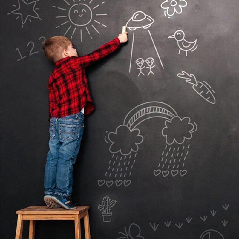 Tableau noir d'écolier pour enfant