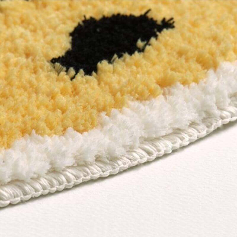Détails du tapis banane